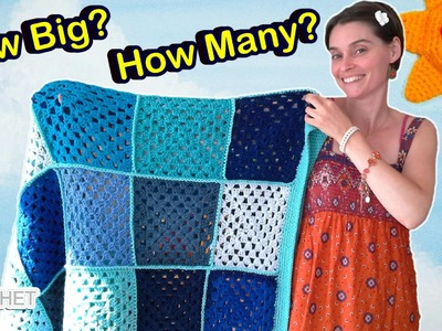 Granny Square Blanket Sizes CROCHET FAQ