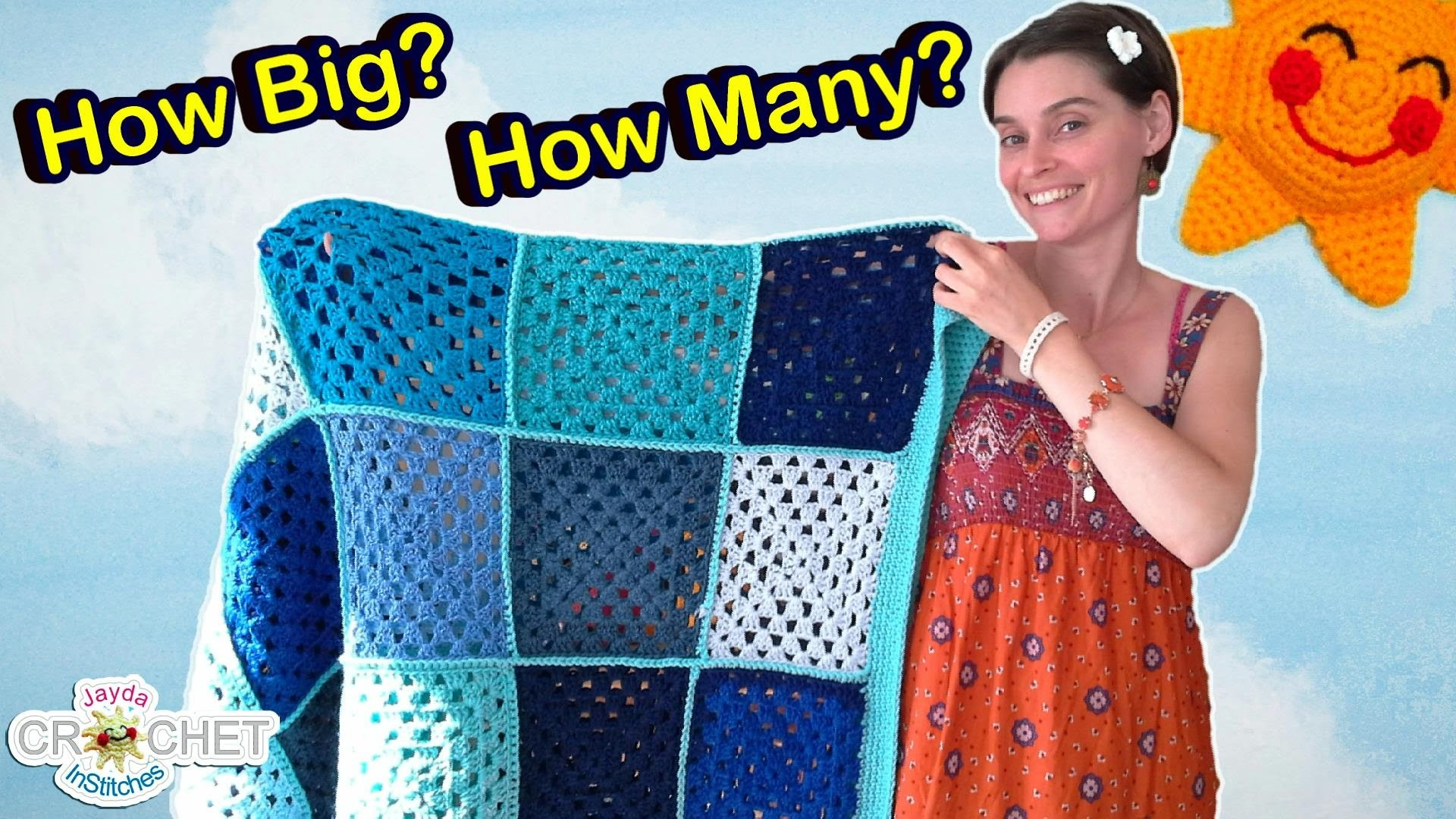 Granny Square Blanket Sizes CROCHET FAQ