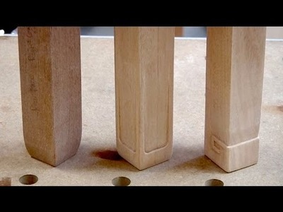 Greene & Greene Adirondack Chair Leg Details