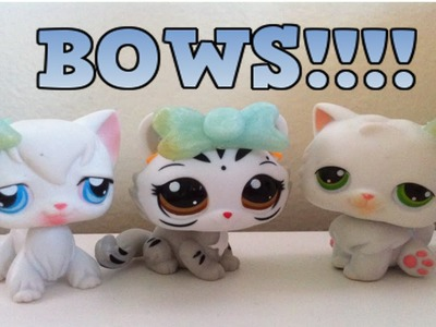 How to make LPS bows!! (Polymer Clay)