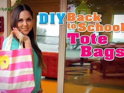 Intro- DIY: Back to School Tote Bags
