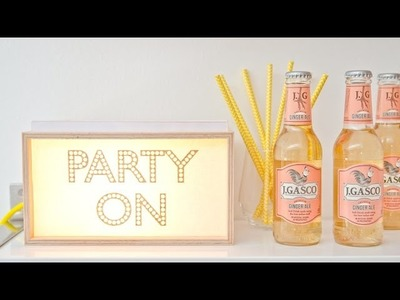 Mood Light Motivleuchte DIY Set von Frida & Finn