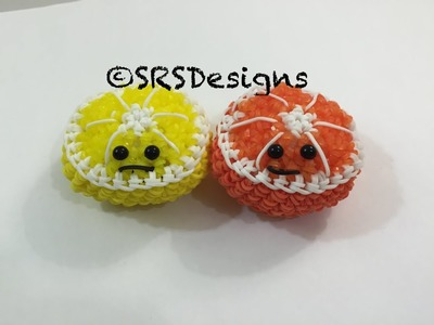 Orange.Lime.Lemon.Kiwi Tutorial Rainbow Loom Loomigurumi.Amigurumi Hook Only