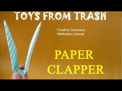 PAPER CLAPPER  - TAMIL - Amazing paper Clapper!