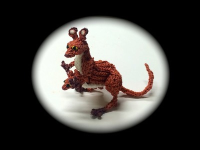 Part 1.3 Rainbow Loom Kangaroo Adult