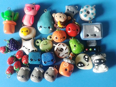 ❤ Polymer Clay Charm Collection! ❤