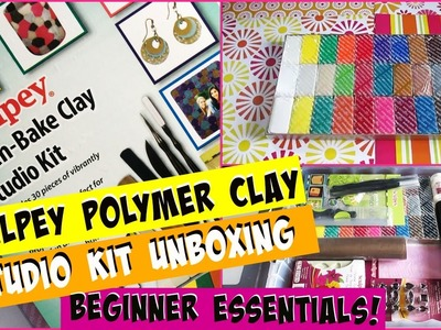 Sculpey Polymer Clay Studio Kit Unboxing! - Beginner Essentials!