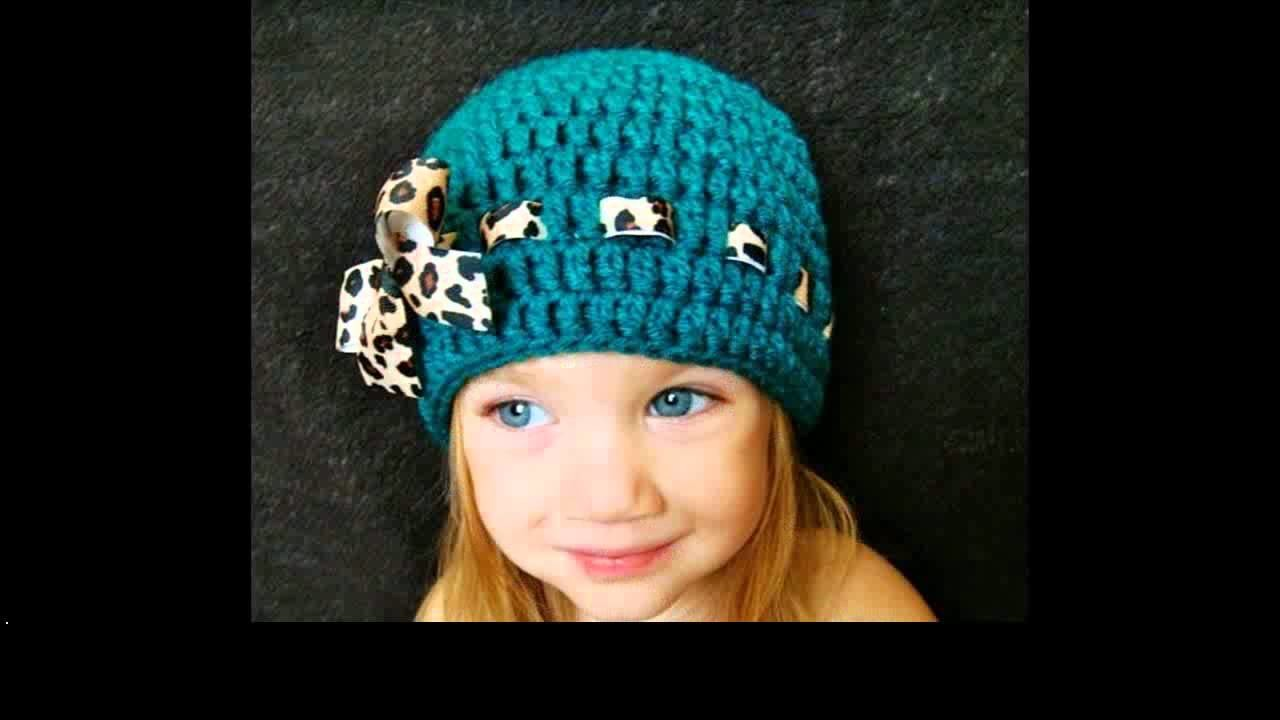 Single crochet beanie pattern