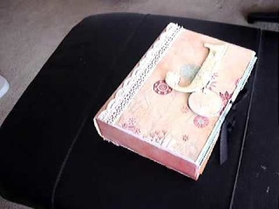 Baby Scrapbook in a Box