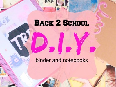 Back2School: Tumblr Inspired DIY Supplies!!!