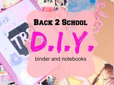Back2School: Tumblr Inspired DIY Supplies!!!