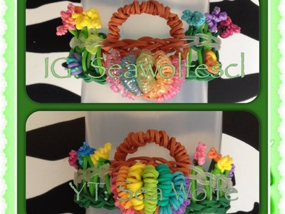 Basket Bracelet on Rainbow Loom (Part 1)