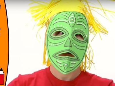 Craft Ideas For Kids - Tribal Mask | World Of Art | Øistein Kristiansen