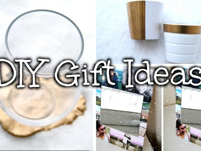 DIY Holiday Gift Ideas! For Friends, Family, Loved Ones etc!