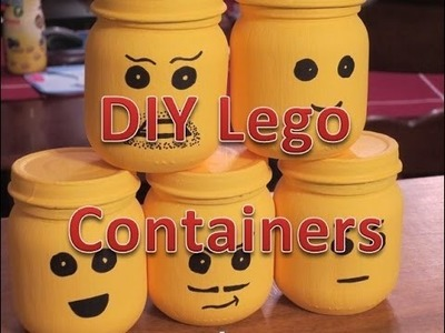 DIY Lego Containers, Decoration, or Party Favors
