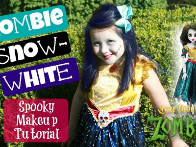 DIY Snow White Zombie Makeup Tutorial and Costume First LOOK!   Once Upon A Zombie New Looks  Daisys