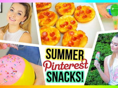 DIY Summer Treats and Snacks - Cheap and Fun!