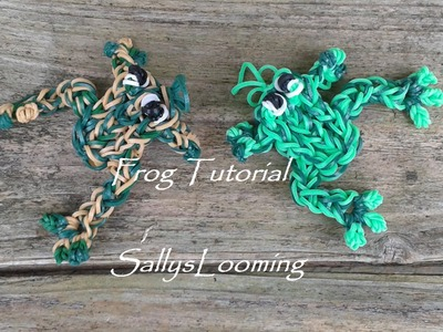 Frog Charm Loom Band Tutorial