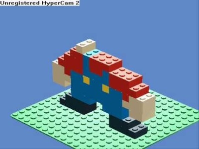 How to make lego mario on LDD