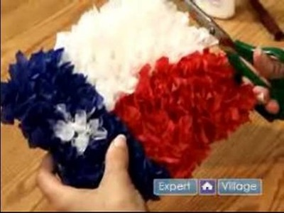 How To Make Tissue Paper Crafts : How To Make A Tissue Paper Flag