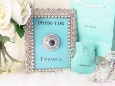 Press For Tiffany's [ DIY Wall Art ]