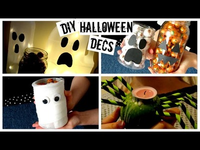 Quick, Easy DIY Halloween Decorations