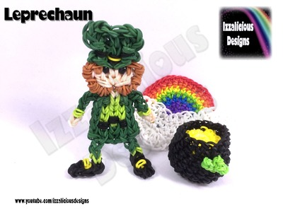 Rainbow Loom - Leprechaun Action Figure.Doll.Charm (St Patrick's Day.Irish)