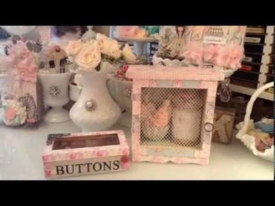 Shabby Chic Projects for my Craftroom