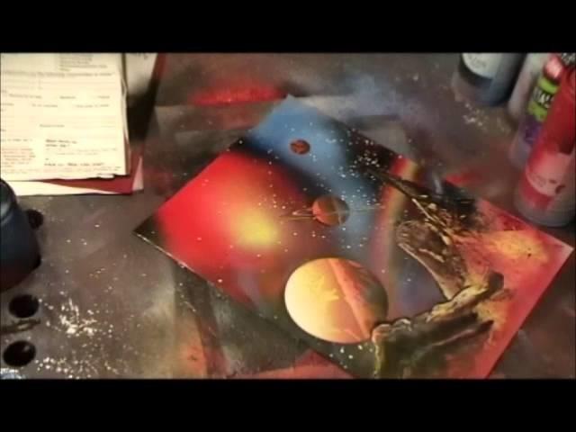 Spray Paint Art Secrets