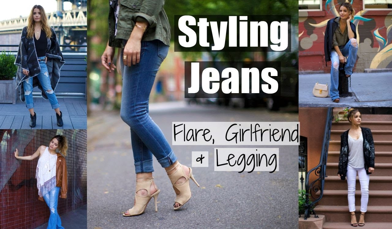 STYLING JEANS | Flare, Girlfriend & Legging