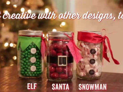 Christmas DIY: Mason Jar Teacher Gift