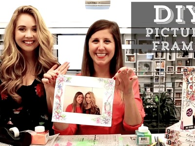 DIY: Kristina Webb's Color Me Creative Picture Frame Challenge!