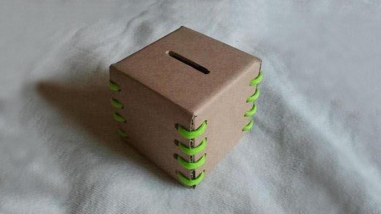 Как сделать банкомат из картона своими руками