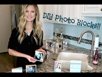 DIY Picture Blocks!!
