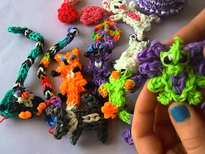 My Rainbow Loom Collection!
