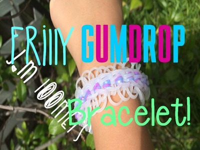 ☮NEW! Frilly Gumdrop MONSTER TAIL Rainbow Loom Tutorial! ☮