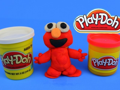 Playdough Plastilina #3 - Set Sesame Street Elmo Play - Elmo DIY - Easter Eggs Spring