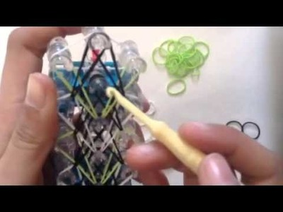 Rainbow Loom Backpack Tag