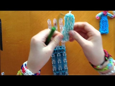 Rainbow Loom Elsa Frozen - Part 2