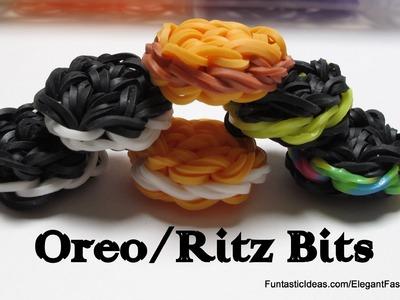 Rainbow Loom Oreo.Ritz Bits Cookies Charms