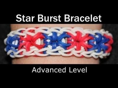 Zoom O' Loom l How To Make Starburst Rainbow Loom Bracelet