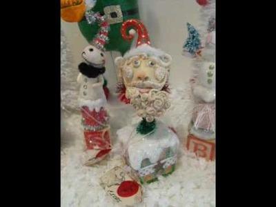 Christmas Folk Art by C. Ellis