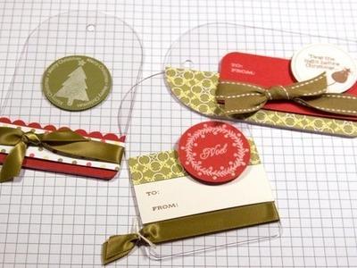 Christmas Gift Tags - Make a Card Monday #51