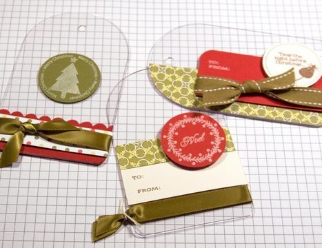 Christmas Gift Tags - Make a Card Monday #51