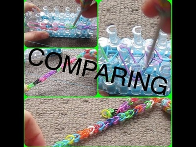 Comparing The Single Chain Bracelet | Rainbow Loom
