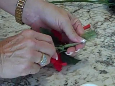 Creating A Christmas Theme & Napkin Ring By Ilona