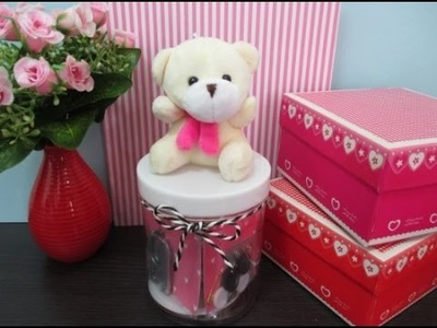 DIY : #108 Sewing Kit WITH Mini Teddy Bear (Birthday Gifts) ♥