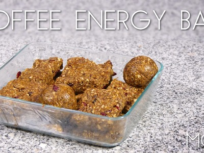 DIY Coffee Energy Bars – Mini MOD #41