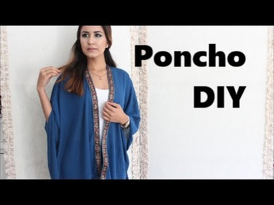 DIY. How to Easy Poncho  DamaV425