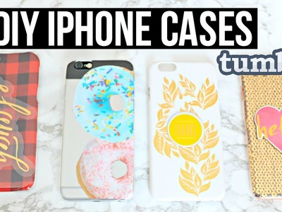 DIY iPhone 6.6s Cases! Affordable $1 Gift Ideas